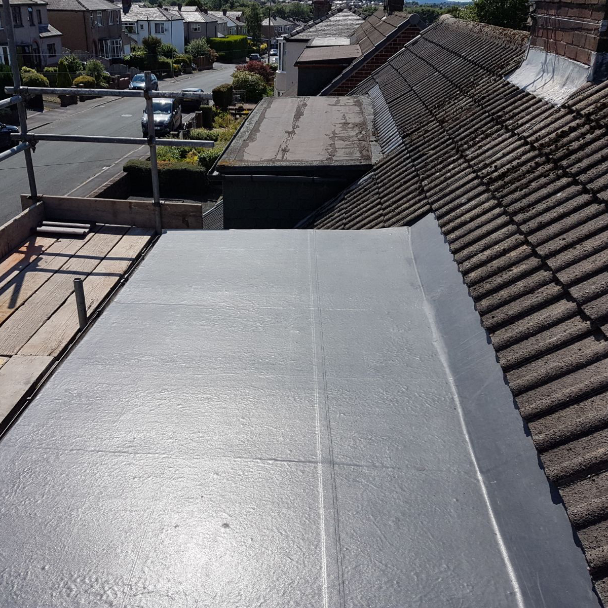 Firestone Rubber Flat Roof
